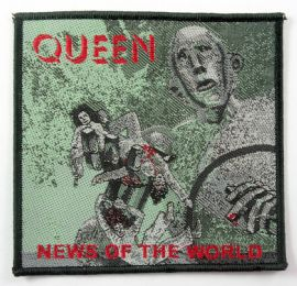 Queen - 'News of the World' Woven Patch